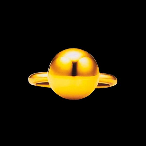 Кольцо желтое золото Tiffany & Co hard wear