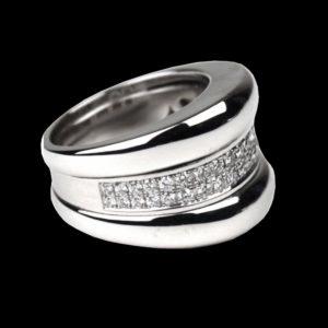 кольцо Chopard белое золото
