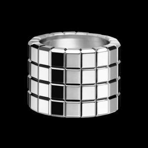 Кольцо Chopard Ice Cube белое золото
