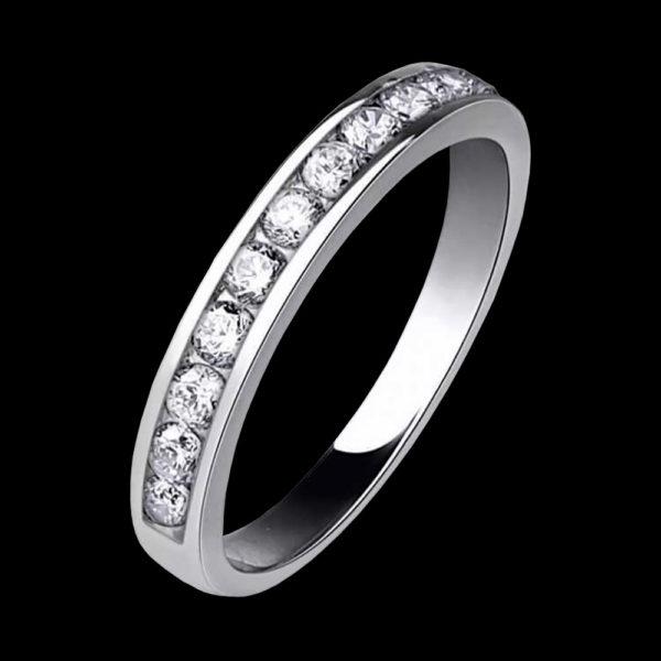 Кольцо Tiffany & Co белое золото