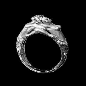 Кольцо Carrera v Carrera белое золото Адам и Ева