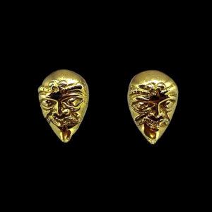 Серьги желтое золото DeMaria 1618