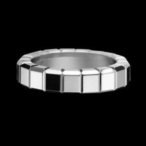 кольцо белое золото chopard ice cube