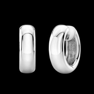 Серьги белое золото Tiffany & Co