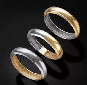 кольцо обручальное Tiffany & Co желтое