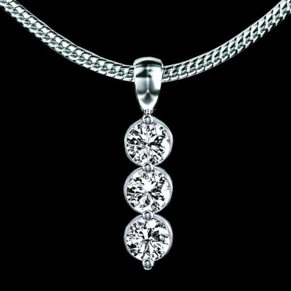 Подвеска бриллианты Tiffany & Co