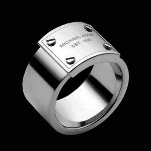 Michael Kors обручальное кольцо белое