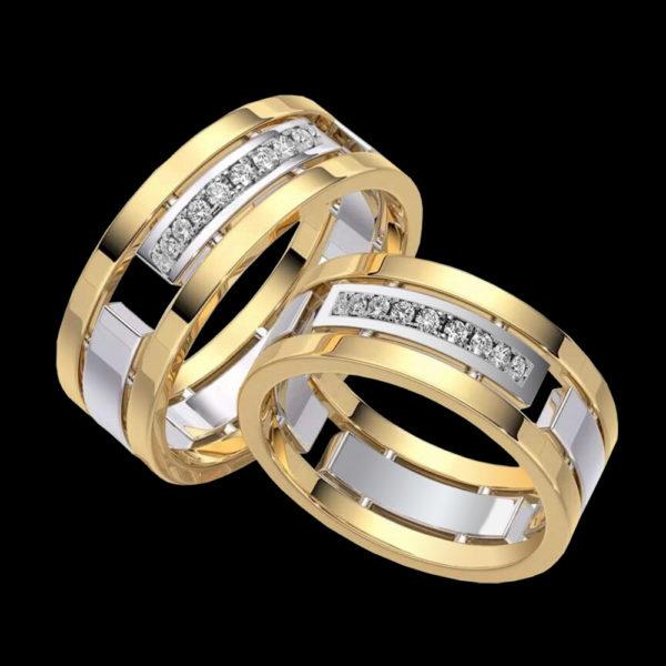кольцо обручальное baraka