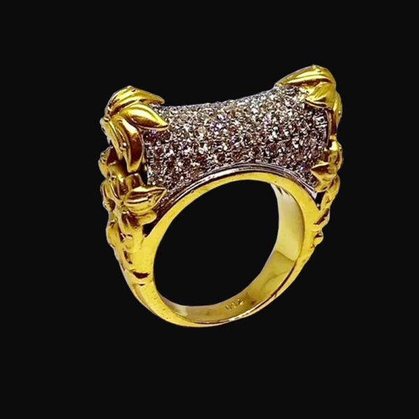 кольцо золото carrrera y carrera