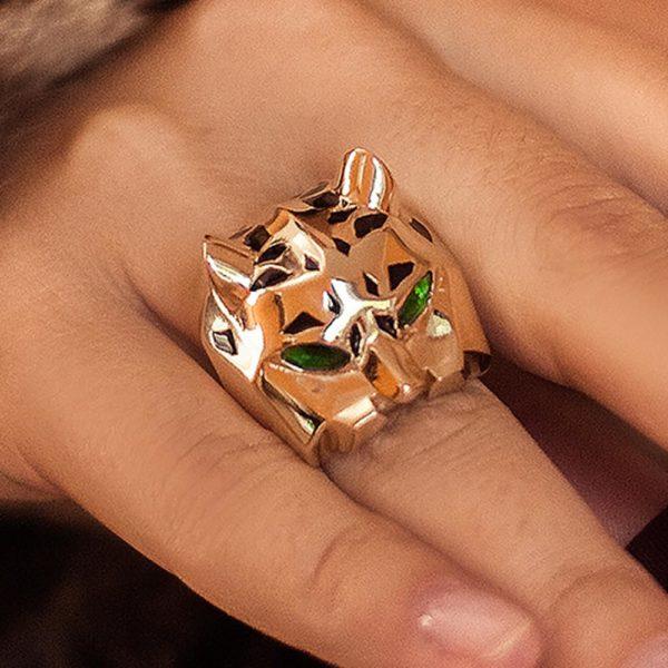 кольцо в жёлтом золоте
