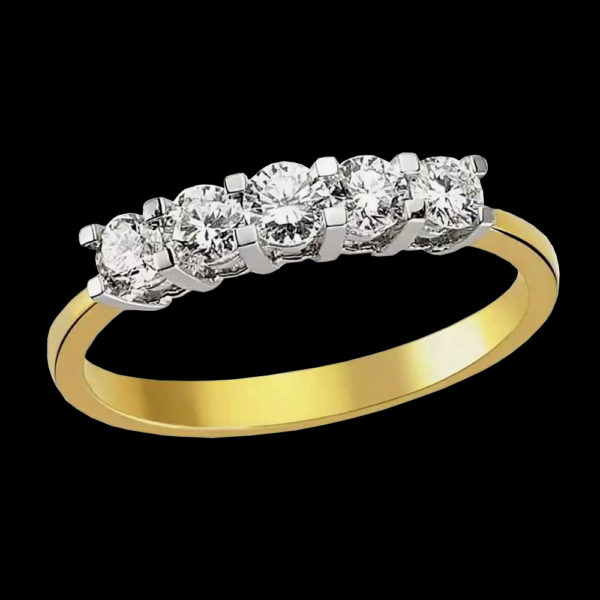 кольцо фианит помолвка