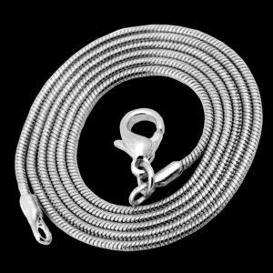 колье белое золото