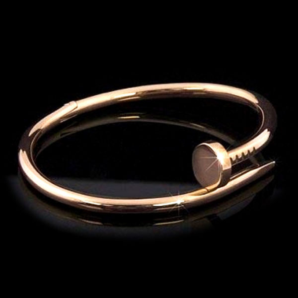 Золотой браслет Cartier Juste Un Clou