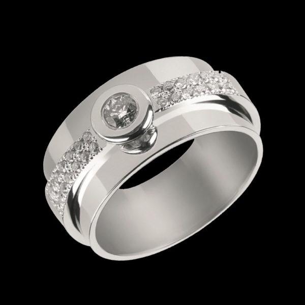 Кольцо обручальное золото 1