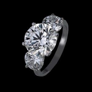 кольцо фианиты