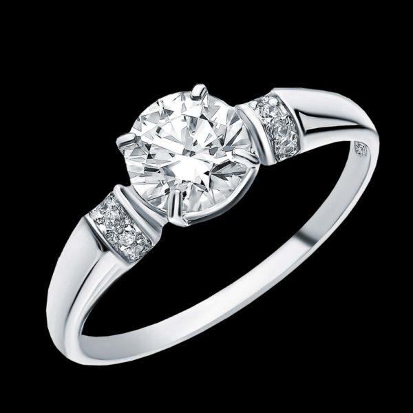картье помолвочное кольцо