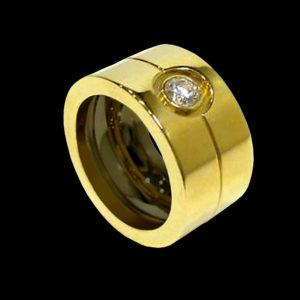 Кольцо желтое золото Cartier