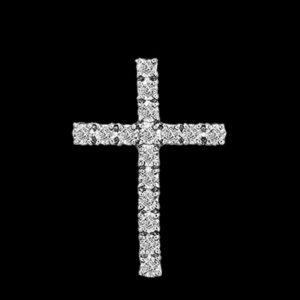 Крест бриллианты Tiffany