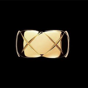 обручальное кольцо серебряное chanel