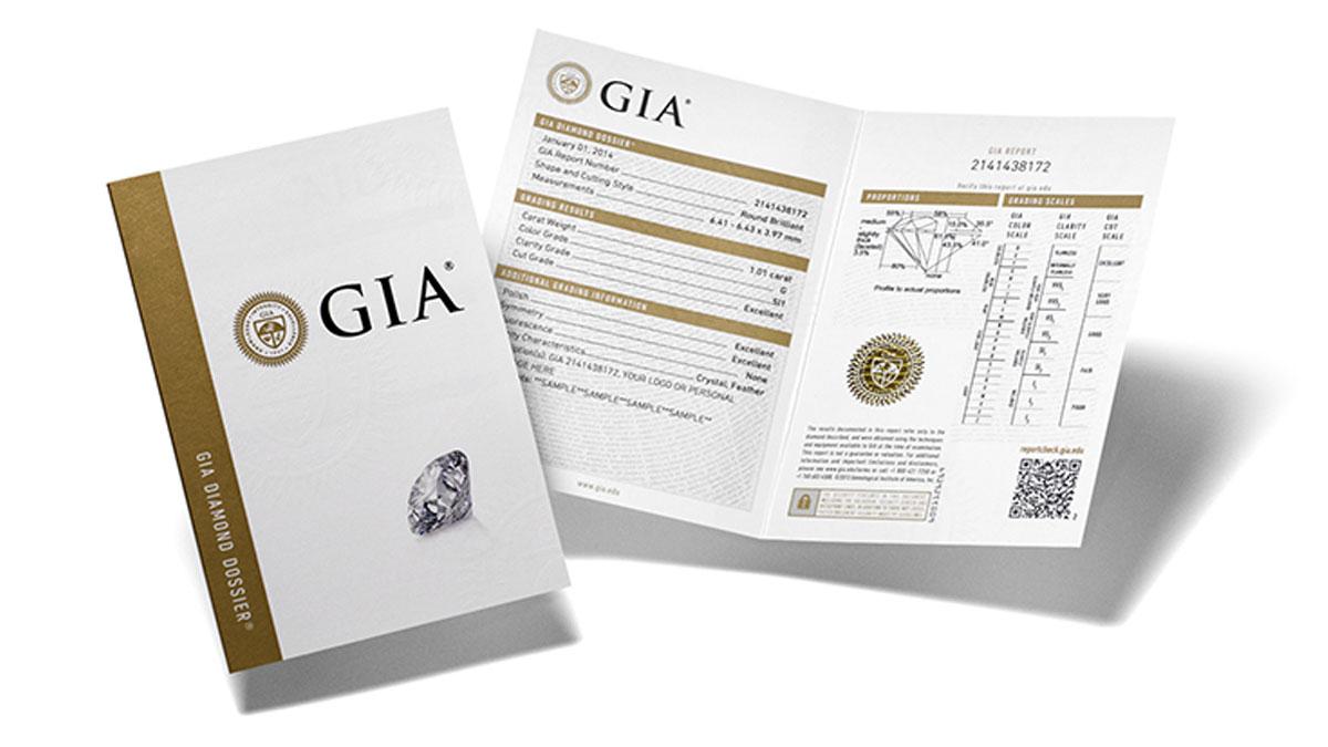 сертификат GIA