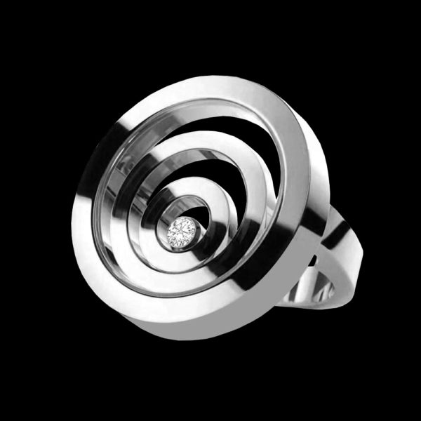 Кольцо с бриллиантом шопард
