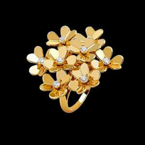 кольцо ванклиф