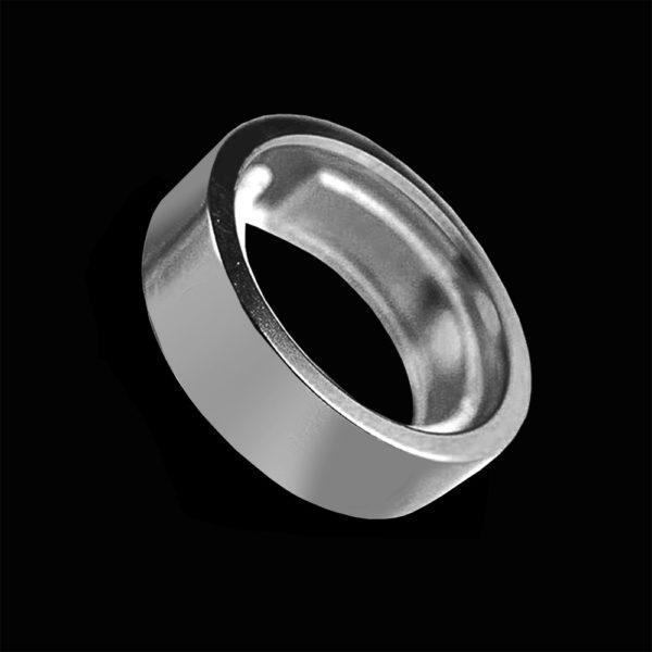 Обручальное кольцо желтое золото 1