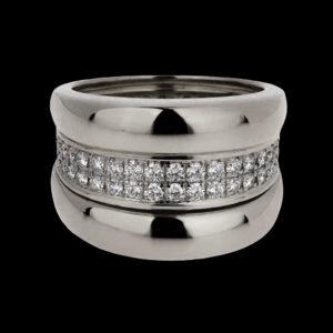 Обручальные кольца. Серебро 2