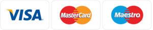 visa maestro mastercard