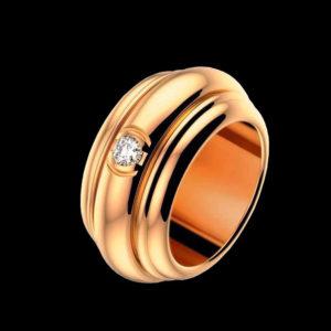 обручальное кольцо в красном золоте piaget