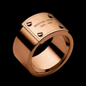 обручальное кольцо в красном золоте