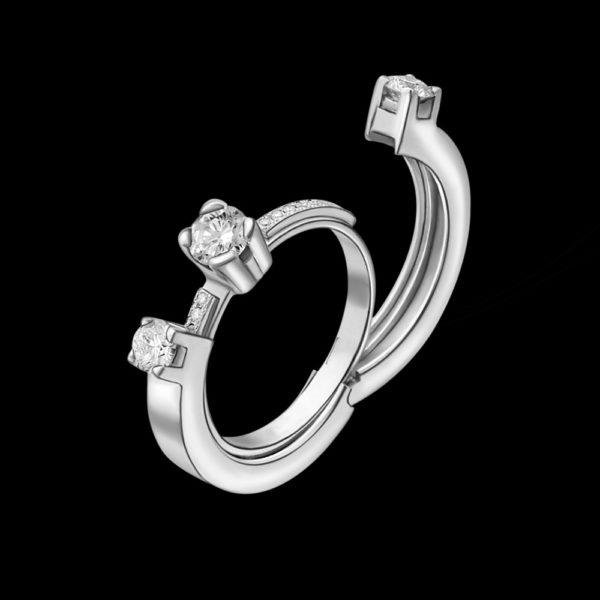 Помолвочное кольцо трансформер