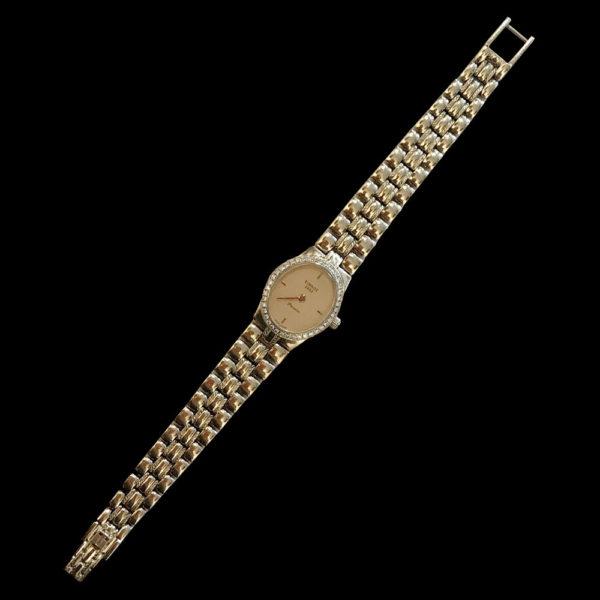 Часы Tissot с бриллиантами