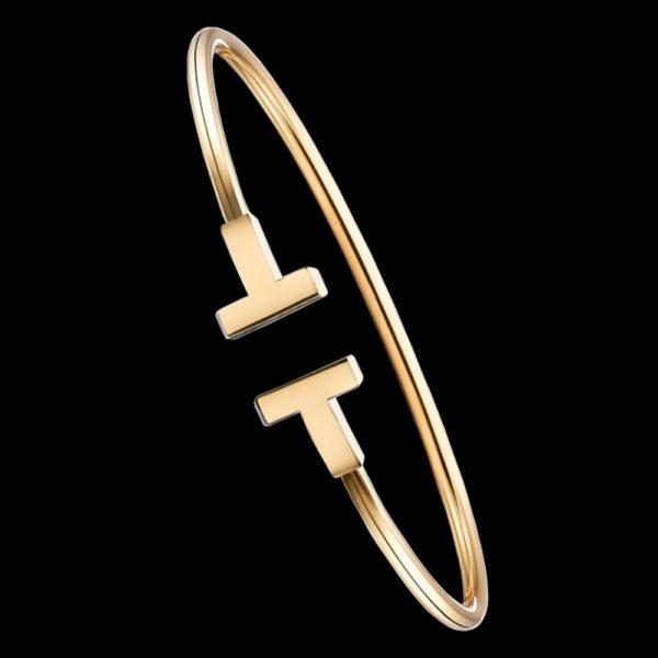 браслет в желтом золоте
