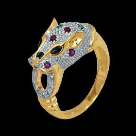 Кольцо кошка